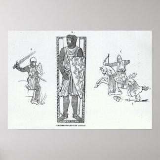 Thirteenth-century armour poster