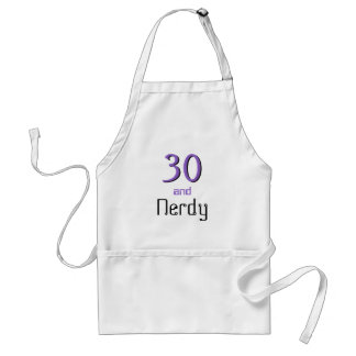 Thirty and Nerdy Standard Apron