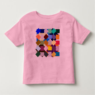 Thirty-eight different color blocks to play with tee shirt