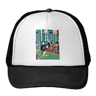 Thirty six amusements in Tokyo  foreigners Hats