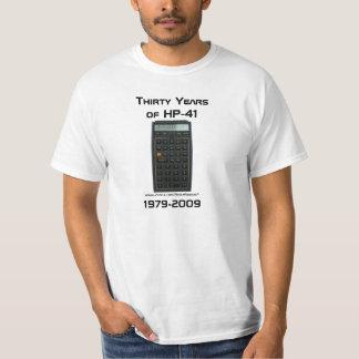 Thirty Years of HP-41: 1979-2009 T-Shirt