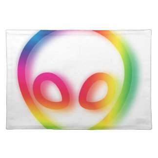 This Alien isn't Gray - its Hip ! Placemat