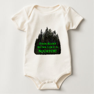 This Baby Runs Like a Squatch! - Clothes Only Creeper