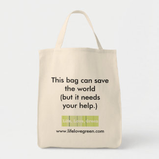 This bag can save the world...