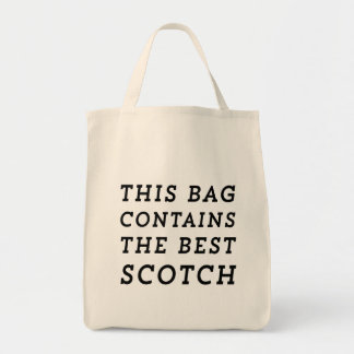 This Bag Contains the Best Scotch