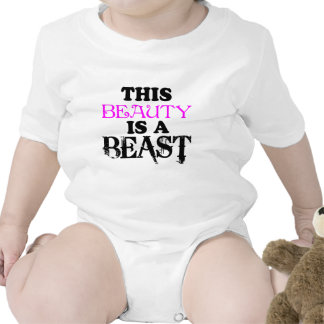 THIS BEAUTY IS A BEAST BODYSUITS