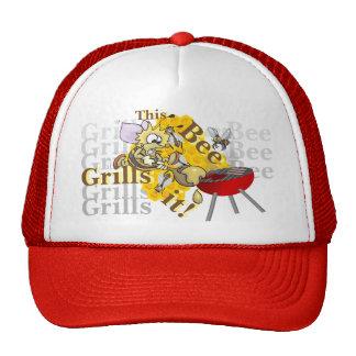 This Bee Grills It! Trucker Hat