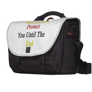 This Belgian Will Protect You Until The End Laptop Bag