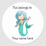 This belongs to Mermaid sticker