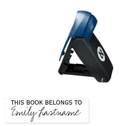 This Book Belongs To - Custom Name Pocket