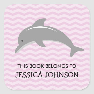 This book belongs to dolphin bookplate stickers
