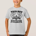 This Boy Is Getting Promoted To Big Brother Tshirts