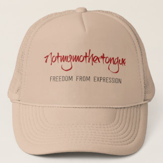 This brand inspires a new attitude- FREEDOM Trucker Hat