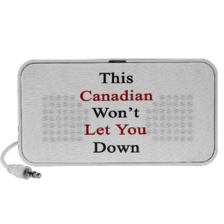 This Canadian Won t Let you Down Portable Speaker