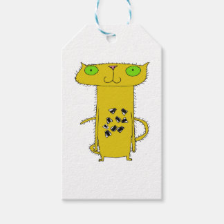 This Cat  . . . eats flies Gift Tags