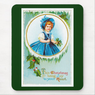 This Christmas Bring Joy to Your Heart Mouse Pad