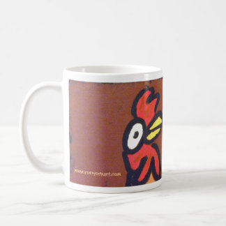 This coffee could make a chicken bark! mug