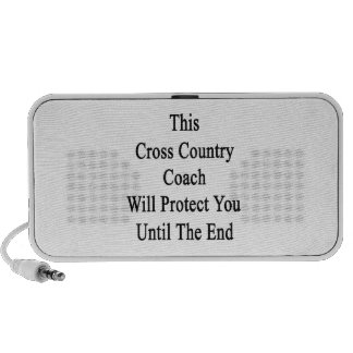 This Cross Country Coach Will Protect You Until Th iPod Speaker