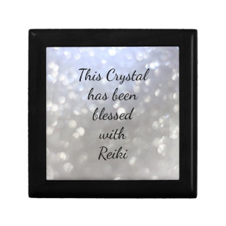 This crystal has been blessed with Reiki Gift Box