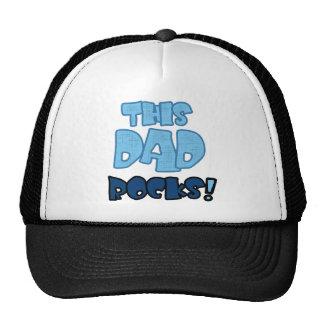 THIS DAD ROCKS CAP