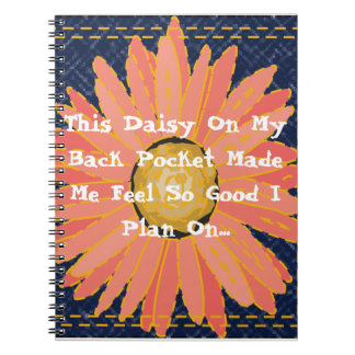 This Daisy On My Pocket Planner Notebook