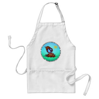This design features an image of the Planet Earth Standard Apron