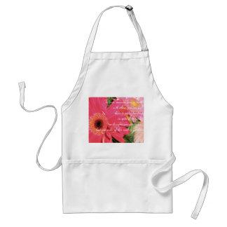 This Earth a Garden Apron (pink)2