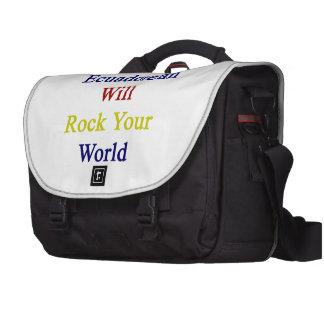 This Ecuadorean Will Rock Your World Commuter Bag