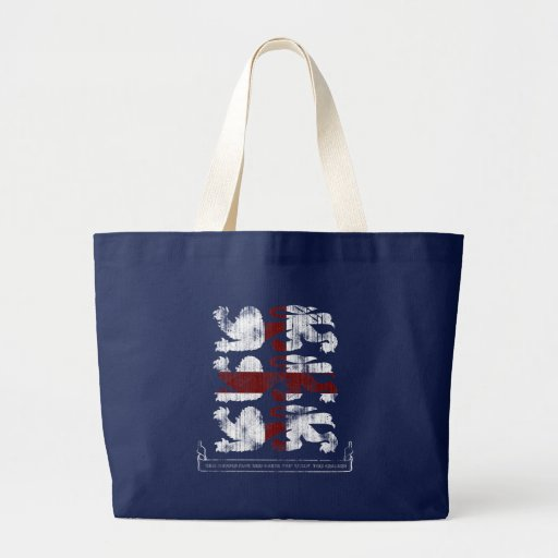 This England Dark Tote Bag