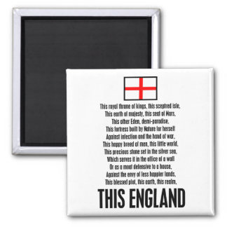 This England Magnets