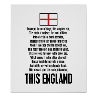 This England Poster