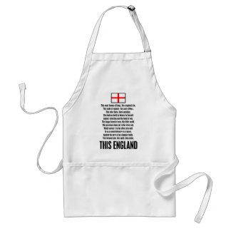 This England Standard Apron