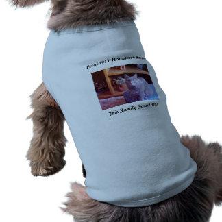This Family Found Me! Sleeveless Dog Shirt