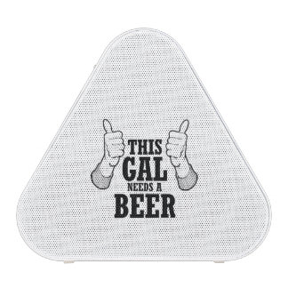 This Gal needs a beer - Holiday Humor