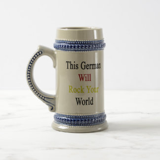 This German Will Rock Your World Coffee Mugs