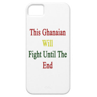 This Ghanaian Will Fight Until The End Case For iPhone 5/5S