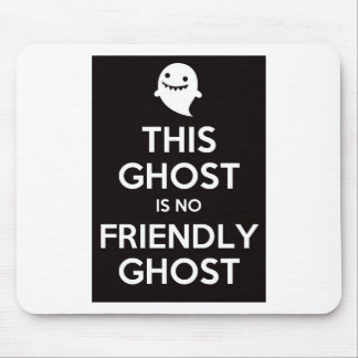 This Ghost Is No Friendly Ghost Mouse Mats