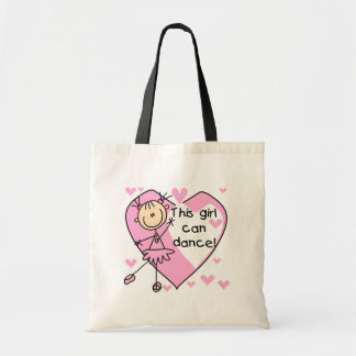 This Girl Can Dance T-shirts and Gifts Budget Tote Bag