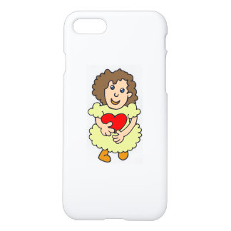 This girl has a big heart iPhone 7 case