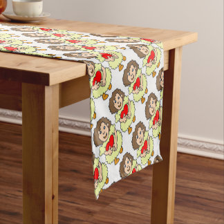 This girl has a big heart short table runner