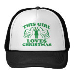 This Girl Loves Christmas Cap