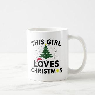 This Girl Loves Christmas Coffee Mug