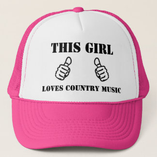This Girl Loves Country Music Trucker Hat