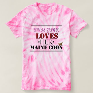THIS GIRL LOVES HER MAINE COON T-Shirt