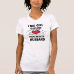 This girl loves her Manchester Husband T-Shirt