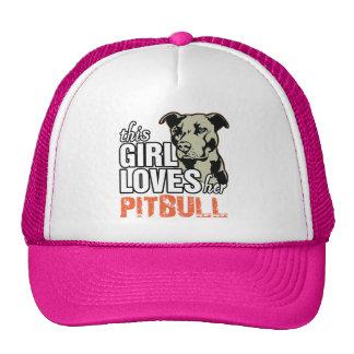 This Girl Loves Her Pitbull Cap