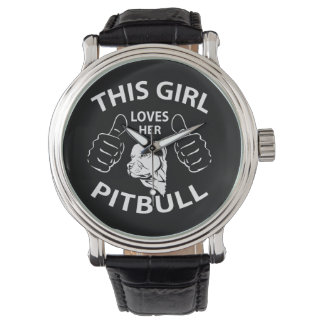 """""""This girl Loves her pitbull"""" Watch"""