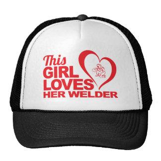 This Girl Loves Her Welder Hat