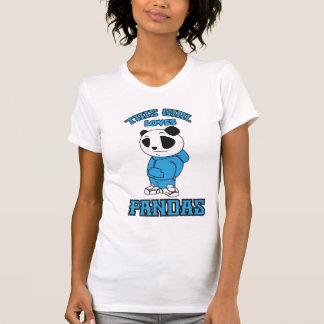 This girl loves Pandas T-Shirt