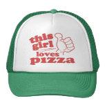 This Girl Loves Pizza Cap